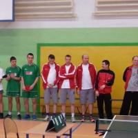 """Integracyjny Turniej tenisa stołowego w ramach III-go programu """"Trenujemy razem""""."""