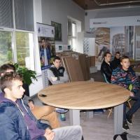 Technolodzy drewna w zakładzie Kronospan